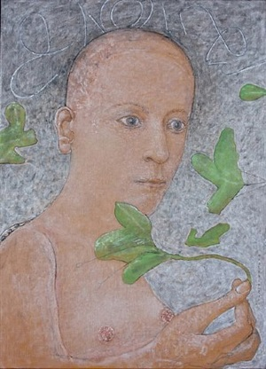 nude with leaves by co westerik