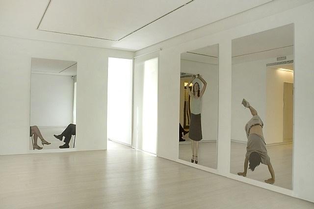 installation view by michelangelo pistoletto