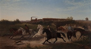 startled by the iron horse by newbold hough trotter