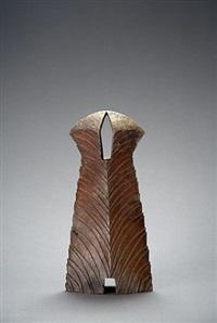 yohen natural ash glaze vase by ken matsuzaki