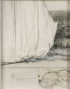 valley curtain by christo and jeanne-claude