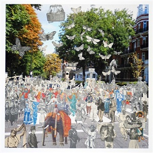 abbey road parade by peter blake