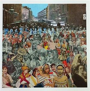 petticoat lane- one hundred women by peter blake