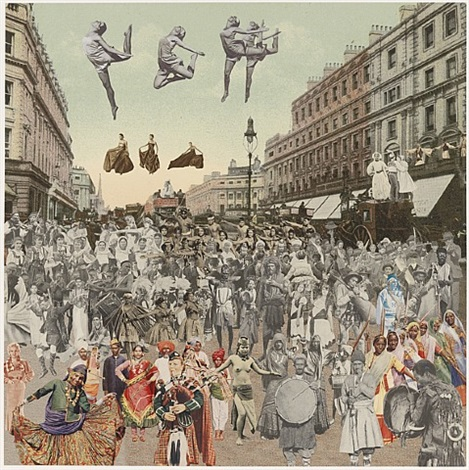 regent street- dancing by peter blake