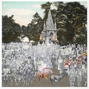regent's park- the runaway donkeys by peter blake