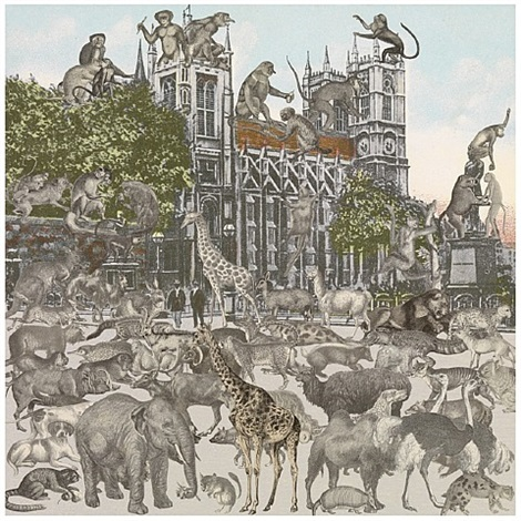 westminster abbey- animalia by peter blake