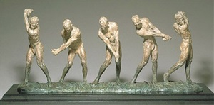 anatomy of a golfer i - v by richard macdonald