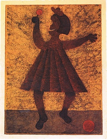 niña (girl) by rufino tamayo