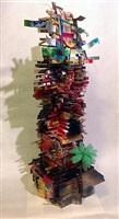 temple of the toucan (sam), de la serie 'arquitecturas hibridas y construcciones mentales' by simón vega
