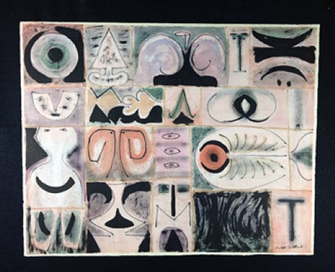 pictograph by adolph gottlieb