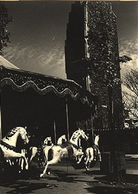 merry go round. street fair, paris by ilse bing