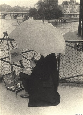 pont des arts by ilse bing