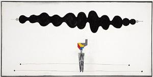 the artist by luis cruz azaceta
