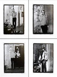 warhol factory telephone suite i-iv by william john kennedy