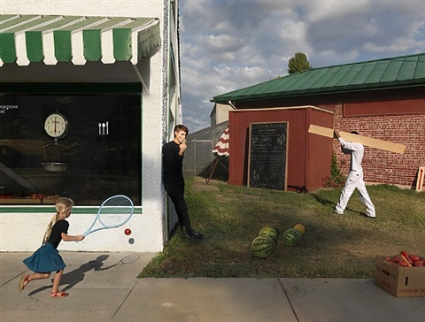 homegrown food by julie blackmon