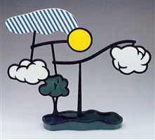 landscape mobile (limoges) by roy lichtenstein