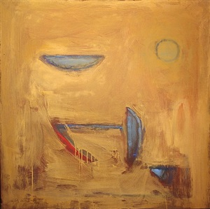 objects on ochre by albert rafols casamada
