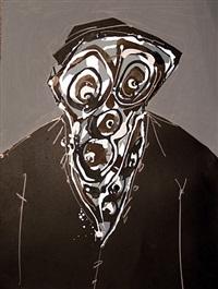 imaginary portrait luis by antonio saura