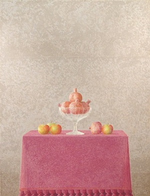 frutero con granadas by xavier valls