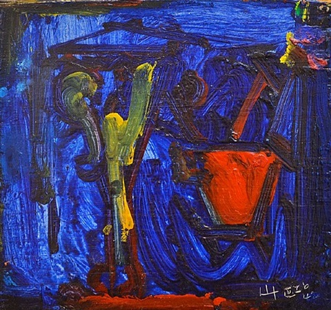 night fall by hans hofmann