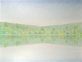 el estanque by xavier valls