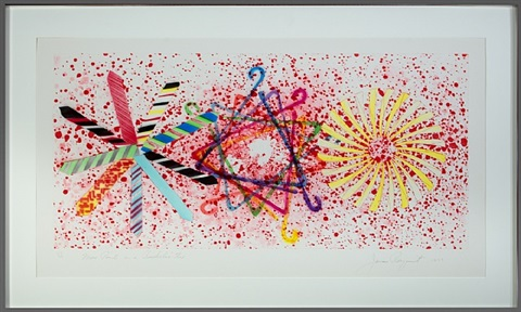 more points on bachelor's tie (inventory #1462d) by james rosenquist
