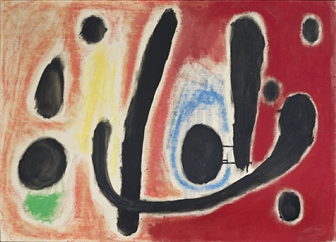 composition (hommage à edgar varèse i) by joan miró