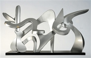 family ties (maquette) by kevin barrett