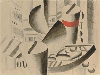 on paper works by impressionist, modern and post-war masters by fernand léger