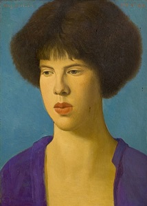 the violinist by mark gertler