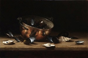 mussels, oysters and copper by sarah k. lamb