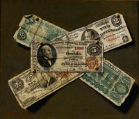 american paper currency by victor dubreuil