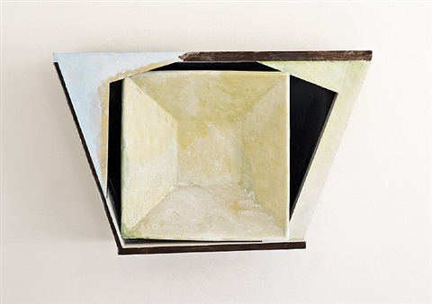 relief piece compass by sir anthony caro