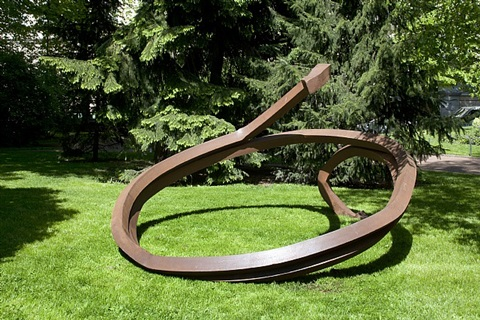 indeterminate line by bernar venet