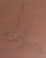 male nude - richard olney by paul cadmus