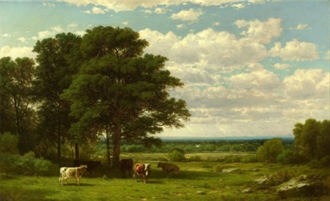 a summer day by john william casilear