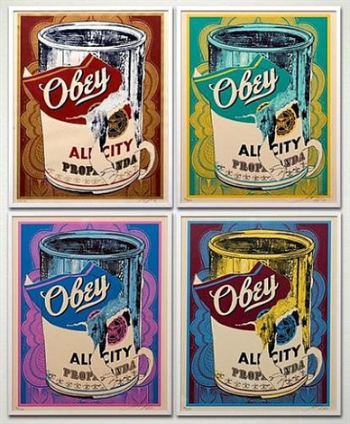 soup cans - full portfolio by shepard fairey