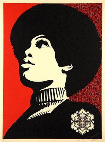 panther power by shepard fairey
