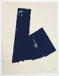 untitled (dark blue) by david rabinowitch