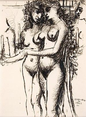 nus by paul delvaux