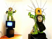 fin de siecle by nam june paik