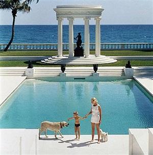 nice pool by slim aarons
