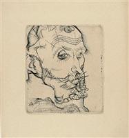portrait of franz hauer by egon schiele