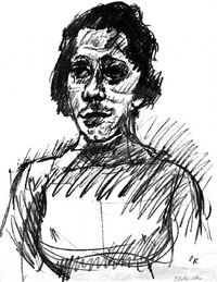 portrait of the actress tilla durieux by oskar kokoschka