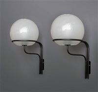 pair of sconces by ico parisi for arteluce model 256 by ico parisi
