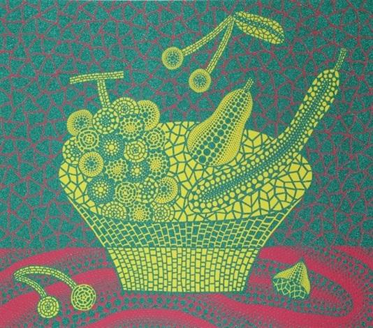 fruit basket 2 by yayoi kusama