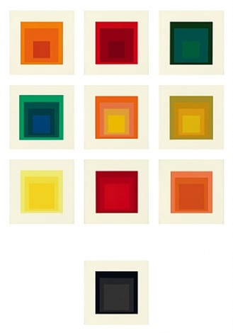 homage to the square: edition keller ia-ik by josef albers