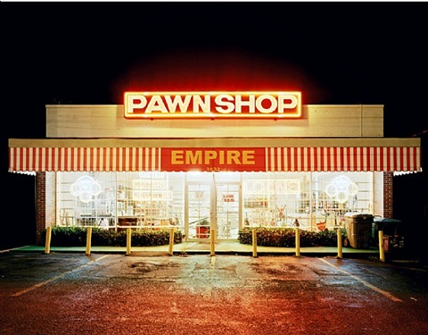 pawn shop, memphis, from: all my life i have the same dream by will steacy