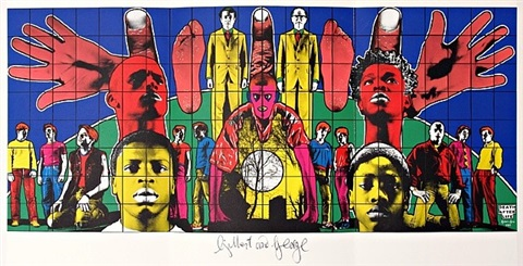 death after life by gilbert & george
