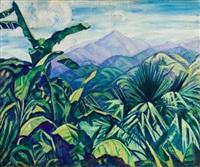 tropical palms by elizabeth grandin